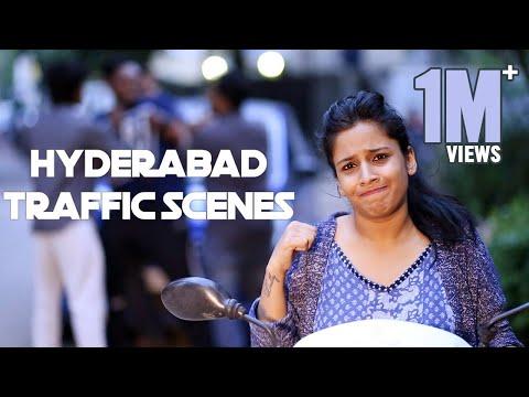 Hyderabad Traffic Scenes ||  Mahathalli
