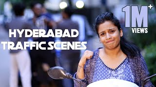 Hyderabad Traffic Scenes ||  Mahathalli || Tamada Media