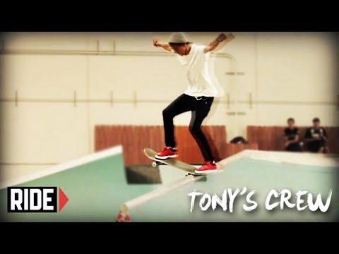 Tony Hawk & Birdhouse Team Skate the Quiksilver TF - Tonys Crew