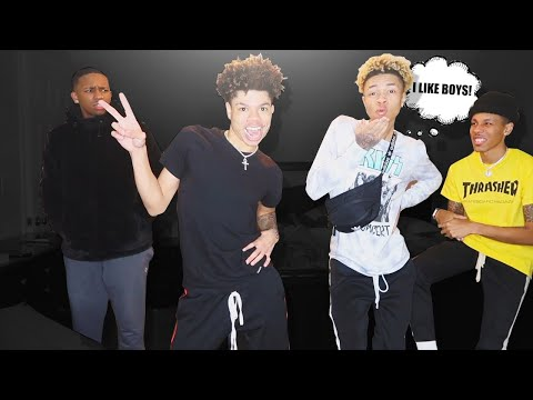 WE LIKE BOYS PRANK ON BJ GROOVY AND CEYNOLIMIT 👬 (THEY TRIED TO SWING ON US) 😳👊