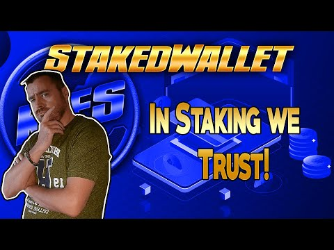 StakedWallet –  In Staking We Trust –  Earn Up To 1.5% Rewards