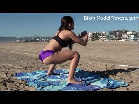 Sexy Bikini Butt & Legs Beach Workout