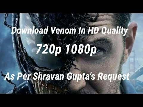 How To Download Venom In Hd Quality | Download Full Movie Hindi Dubbed |