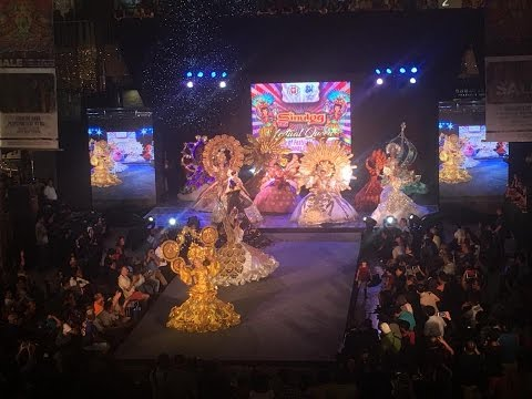 Sinulog Festival Queen 2017 - Runway Competition Opening