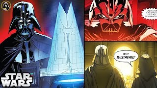 VADER FINALLY GOES TO MUSTAFAR TO BUILD HIS CASTLE (CANON) - Star Wars Theory Comics