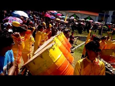 Bambad national high school drummers of isulan, sultan kudarat KALIMUDAN 2014 GRAND CHAMPION