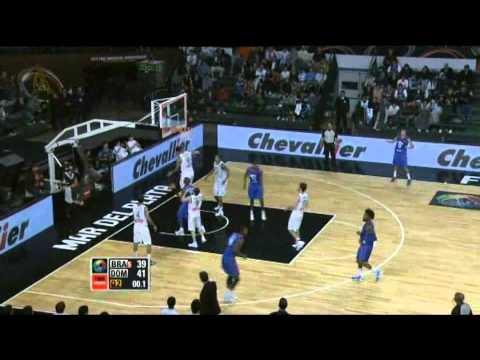 Brazil Vs. Dominican Republic / 2011 FIBA Americas Championship Round 1