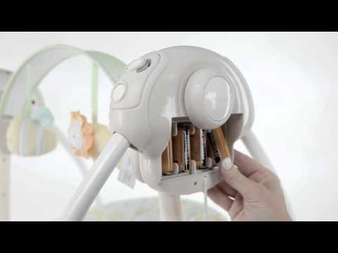 Assembling Your Soothe 'n Delight Portable Swing from Ingenuity