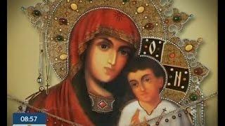Чудотворные иконы Украины: Святогорская икона Божьей Матери(