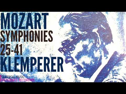 Mozart - Symphonies 25-40,41 Jupiter, Paris, Prague, Linz, Haffner + P° (ref. rec.: Otto Klemperer)