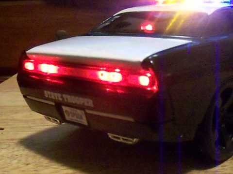 1 18 Texas Dps State Trooper Dodge Challenger Police Youtube