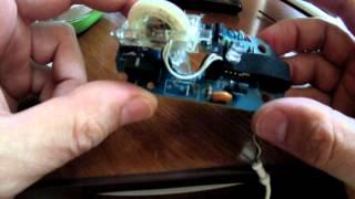 А что внутри :) Ремонт компьютерной мышки своими руками