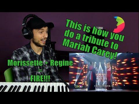 Vocal coach Yazik reacts to Morissette Amon and Regine Velasquez singing tribute to Mariah Carey