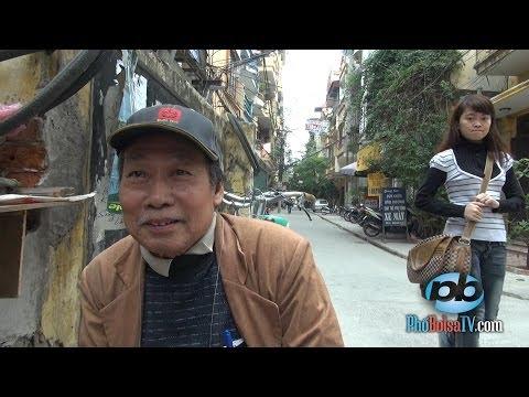 Bác thợ sửa xe ở Hà Nội, nói ra thơ, thở ra văn