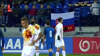 U21 slovakia 1 - 4 spain u21 (10.10.2017 // by ltv)