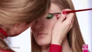 Свадебный макияж в гелиевой технике. Урок №12