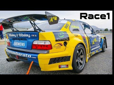 2018 BMW RACE DAYS - Car In Action: Dashcam And Helmet Cam - BMW M SOUND!