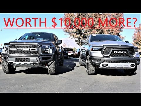 2020 Ford F-150 Raptor Vs 2020 Ram 1500 Rebel 12: Which Off-Road Truck Is A Better Value???