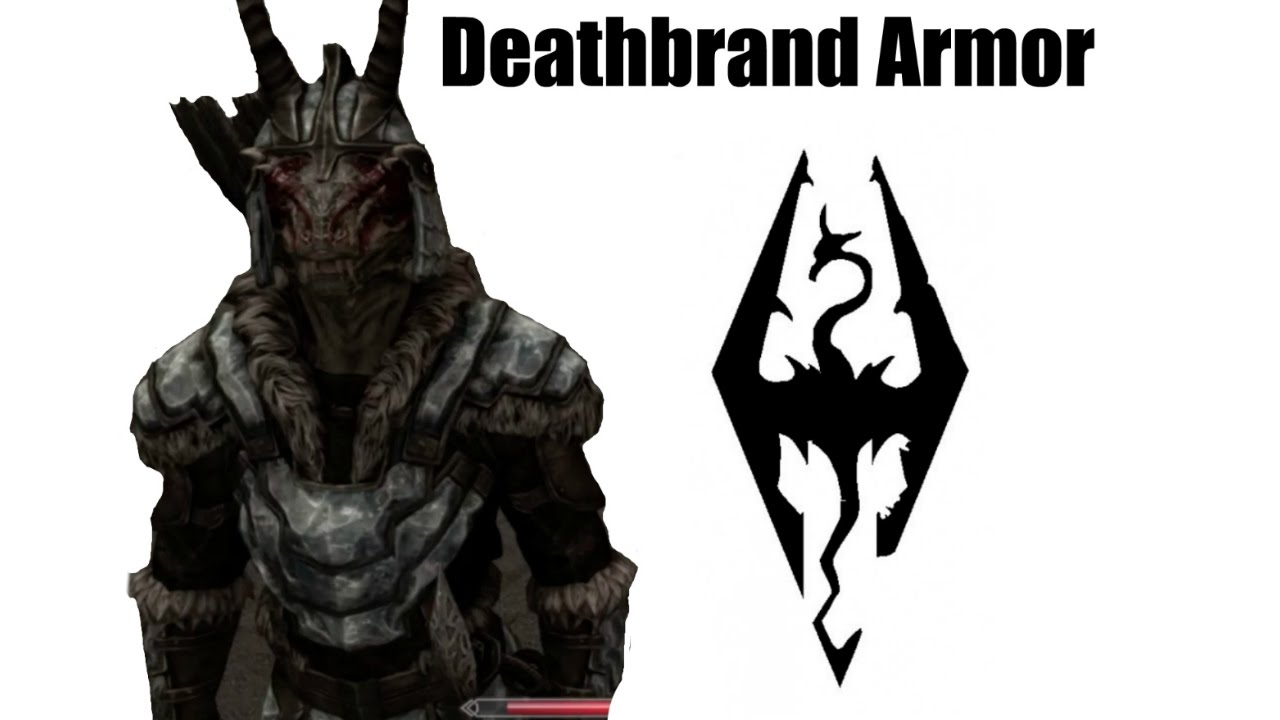 How To Get Deathbrand Armor In Skyrim Youtube