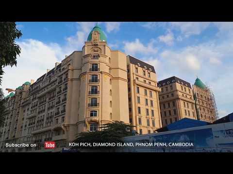 [Skyline] Phnom Penh Cambodia 2017 - CityCambodia 4 | How to Travel Cambodia and Visit Cambodia 2017