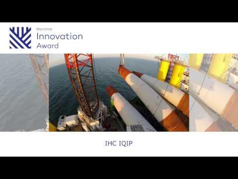 Maritime Innovation Award 2016 - Winnaar IHC IQIP met Integrated Monopile Installer
