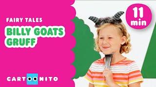 Billy Goats Gruff | Fairytales for Kids | Cartoonito UK