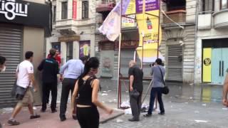 Taksim İstiklal Caddesi Olaylar