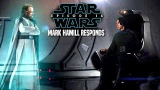 Star Wars! Mark Hamill Responds To Fans For Episode 9! (Star Wars News)