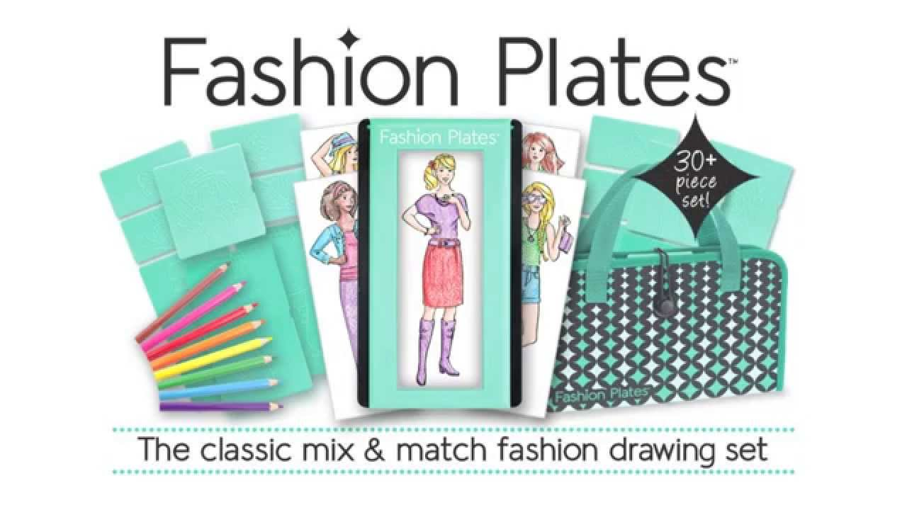 Fashion plates deluxe design set and expansion sets youtube