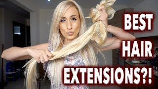 BEST HAIR EXTENSIONS EVER?!!!   || NEW Irresistible Me Trublend REVIEW!!