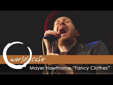 """Mayer Hawthorne - """"Fancy Clothes"""" (Recorded Live for World Cafe)"""