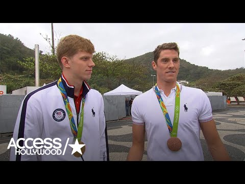 Conor Dwyer On Teammate Michael Phelps' 'Drastic' Change: 'He's A Whole New Guy'   Access Hollywood