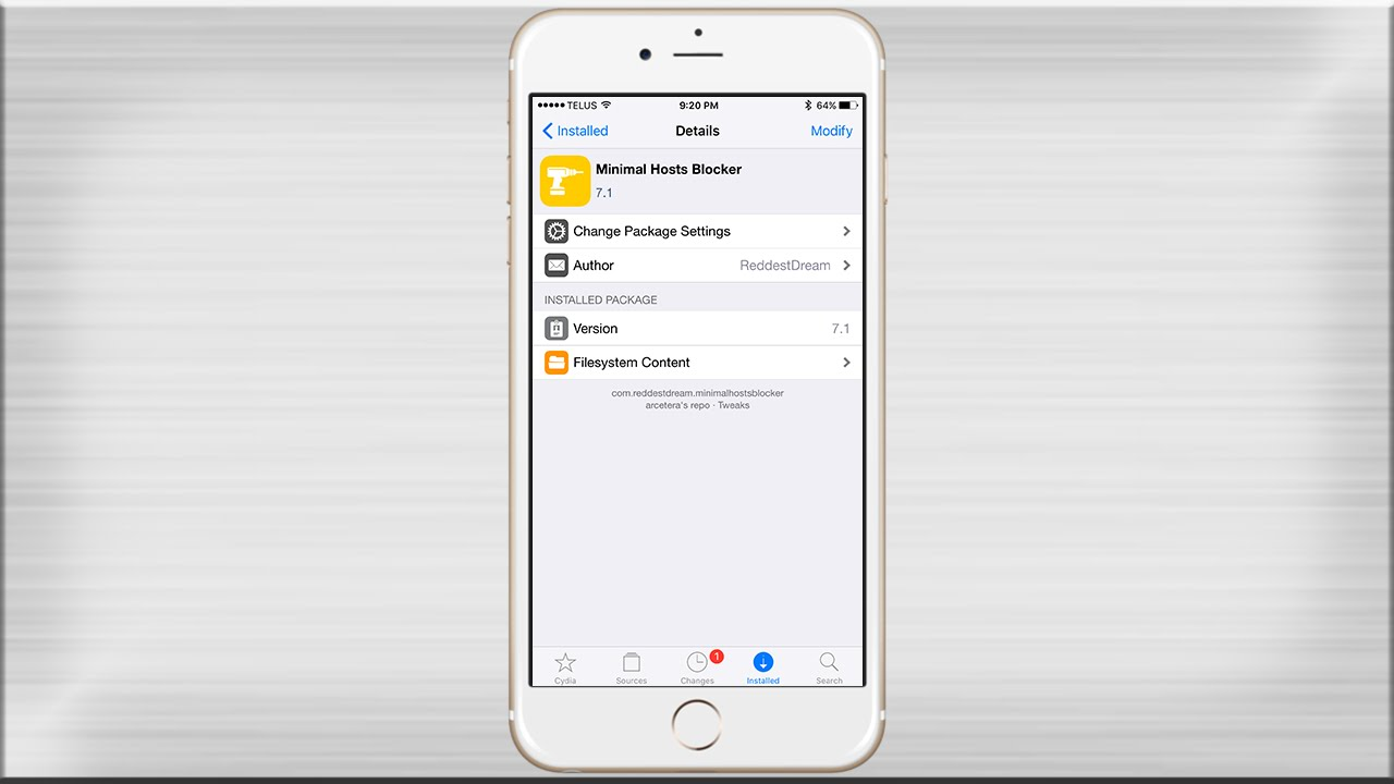 Minimal Host Blocker iPhone Ad Blocker