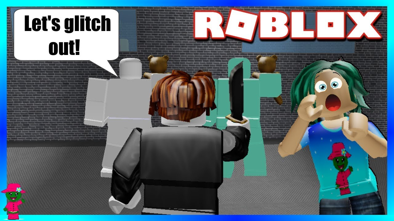 He Caught Them Trying To Glitch Out Roblox Murder Mystery 2