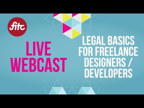 Legal Basics for Freelance Designers / Developers Webcast