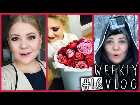 VERRÜCKTE SCHLITTENFAHRT, ENDLICH wieder SPORT & Coffee - Weekly Vlog #16