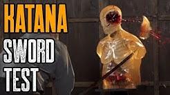 Katana Sword Test - Best Katana Swords Tested (Cold Steel Katanas)