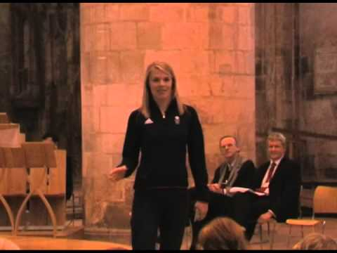 Olympic Gold Medallist Anna Watkins