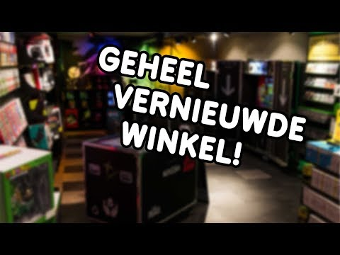 Grand Opening Concept Store Game Mania Amsterdam!