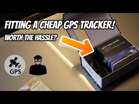 Installing a cheap GPS tracker to the BMW e30