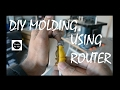 Homemade molding using Router bit