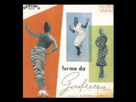 Turma da Gafieira  Samba de morro    Rio antigo  1956