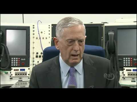 Defense Secretary Jim Mattis Takes Questions in Saudi Arabia