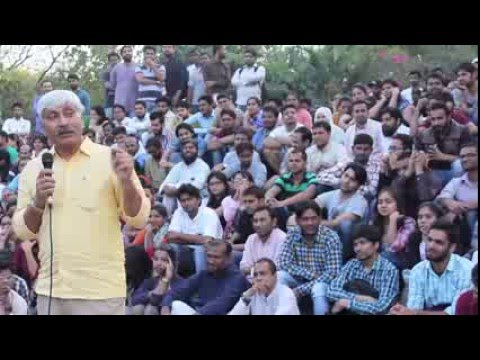Lecture on Nationalism - Apoorv Anand at Ad. Block, 04.03.2016