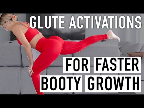 GROW YOUR BOOTY FASTER w/ GLUTE ACTIVATIONS (game changer)!