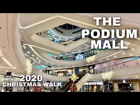 [4K] The Podium Mall - Mall Walking Tour | Ortigas Center, Mandaluyong City, Philippines