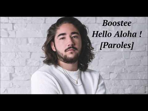 Boostee - Hello Aloha [Paroles]