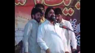 Zakir Syed Zargham Abbas shah majlis 23 march 2013 jalsa SG Zulfqar nool at chak 232 jhang