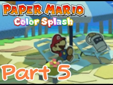 Toads, Oceanfest & Bliss - Paper Mario Color Splash 100% (Part 5)
