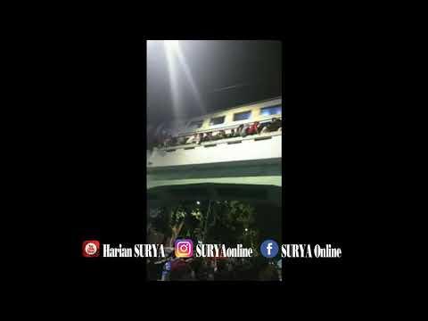 DETIK-DETIK TRAGEDI VIADUK JL PAHLAWAN SURABAYA